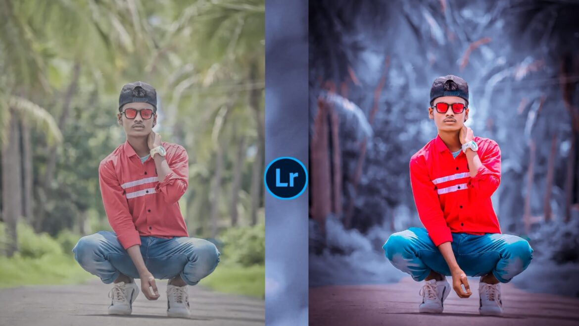 Black And Grey Effect Lightroom Photo Editing Tutorial in Mobile
